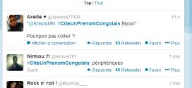 Cite un prénom congolais