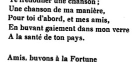 Les Rimes à la Française